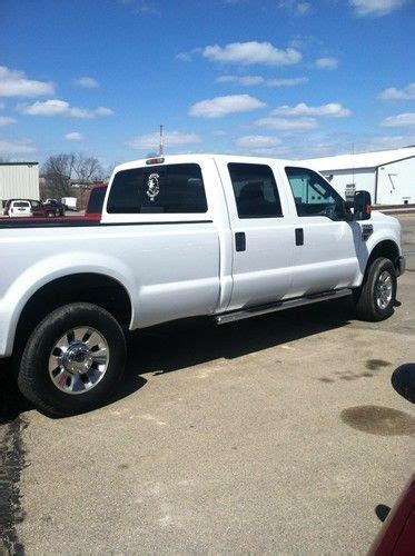 how do cars engines work 2009 ford f250 interior lighting sell used 2009 ford f250 crew cab long box diesel 6 4 4x4 rebuilder in dubuque iowa united