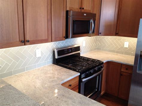 glass tile backsplash in center city philadelphia from
