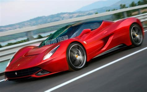 ferrari front view ferrari enzo illustration front view photo 2
