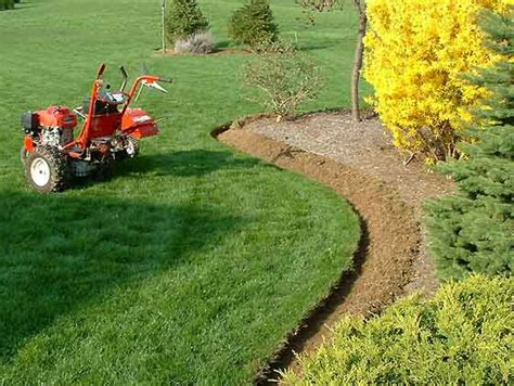 landscape bed edger walk behind edger and trencer uk ireland eire