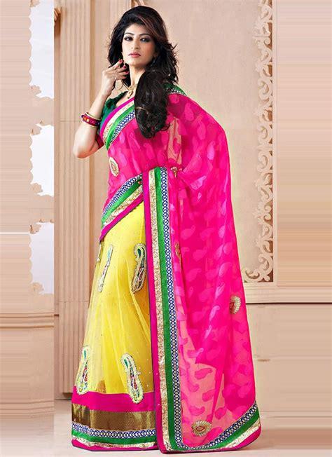 saree draping lehenga style saree draping styles