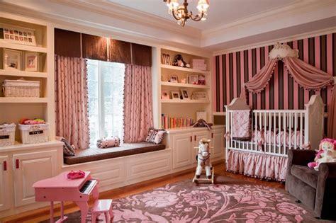 Girl Pink Princess Room Traditional Nursery Boston Designs For Childrens Bedroom