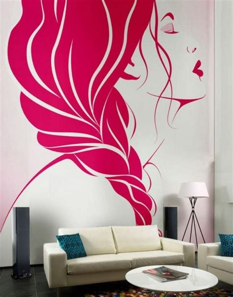 wall paint decor white sectional sofas designs cool wall painting ideas