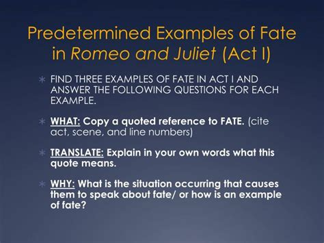 romeo and juliet themes for each act ppt fate free will powerpoint presentation id 2617319
