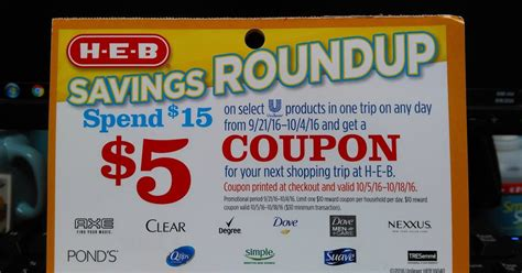 free printable grocery coupons heb heb bargains 5 unilever catalina promotion starts