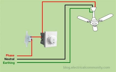 100 electrical wiring diagram for a ceiling fan