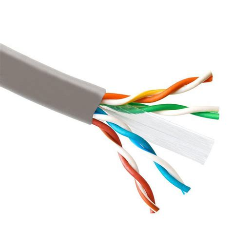 Kabel Utp gray 1000ft cat6 utp cable cat5e lan solid network wire