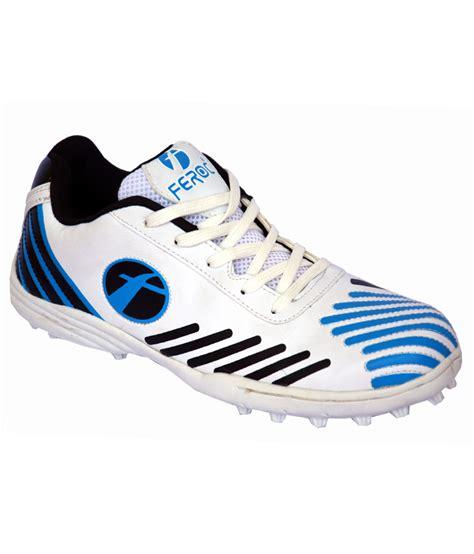 cricket sports shoes feroc blue cricket sports shoe buy from shopclues