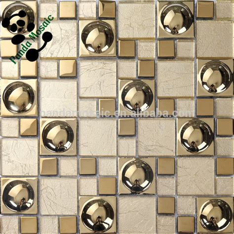 Glass Subway Tile Kitchen Backsplash Smg03 Lowes Mirror Tiles Self Adhesive Wall Tiles Gold
