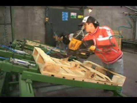 maquina armadora de pallets youtube