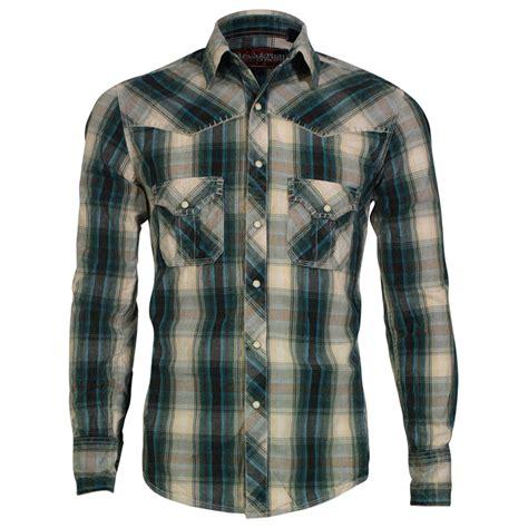 sleeve plaid print shirt panhandle slim s sleeve plaid print western shirt