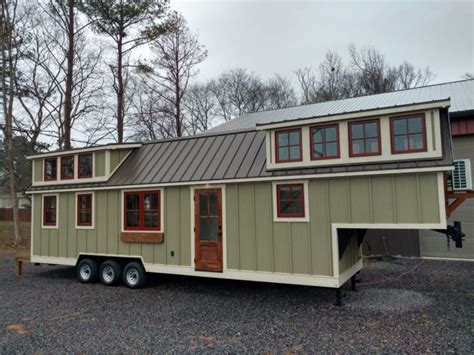 This Is A Super Long Timbercraft 37 Tiny House On Wheels Tiny Trailer Houses For Sale
