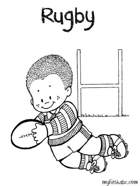 Rugby League Colouring Pages Rugby League Field Colouring Pages by Rugby League Colouring Pages