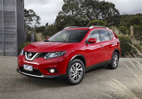 nissan red 2014 nissan x trail red