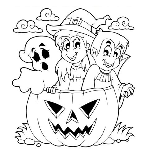Imagenes Halloween Dibujos | dibujos de halloween para colorear im 225 genes halloween