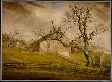 william sidney mount long island farmhouses american