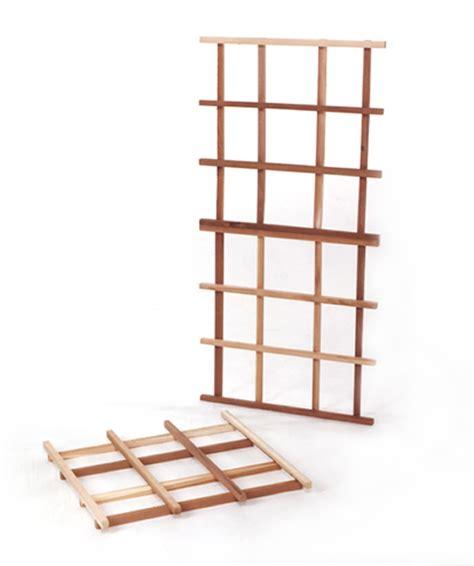 Cedar Trellis Kits 3 cedar garden trellis kit ct60u