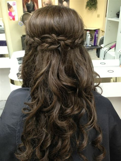 hair styles for back of curly prom hairstyles tumblr www pixshark com images