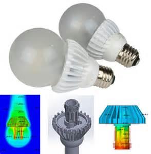 Led Light Bulbs Heat Led Bulb Heat Sink Heatsink Design Tools
