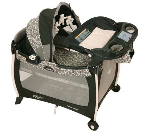 pack and play with bassinet graco silhouette pack n play playard with