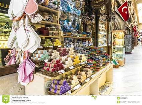 souvenir shop and handmade soap in the center of istanbul