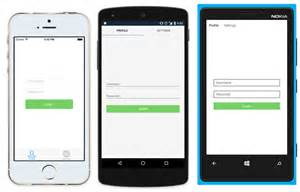 xamarin studio code templates build a android ui ios ui with xamarin forms