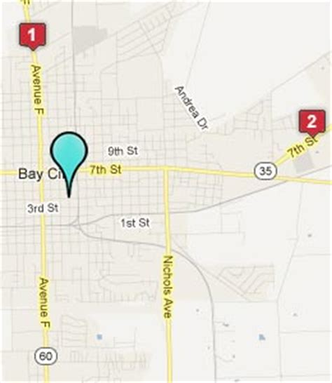 map of bay city texas bay city texas hotels motels see all discounts