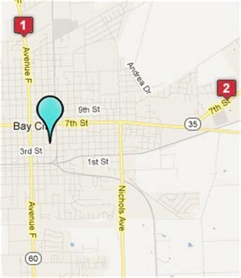 bay city texas map bay city texas hotels motels see all discounts