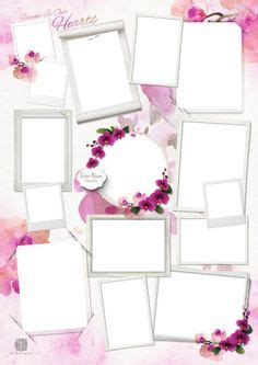 Lilac Rose Collage Design Template Collages For Funeral Pinterest Photo Collage Template Funeral Photo Collage Template