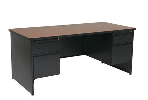 Office Metal Desk Pedestal Metal Desk Square Corner Top Free Shipping