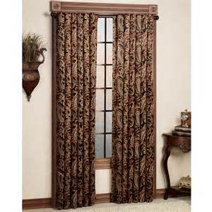 Paisley Window Curtains Bali Paisley Room Darkening Window Treatments