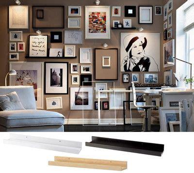 ikea picture ledge floating shelf spice rack mosslanda details about ikea picture ledge 22 quot floating shelf black