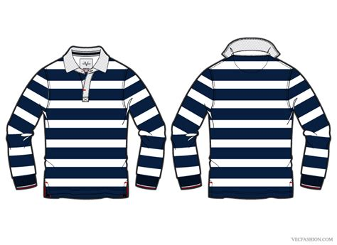 pattern for rugby shirt vf080 mens rugby shirt vector template other files