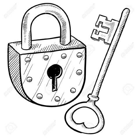lock clip padlock stock illustrations cliparts and royalty free