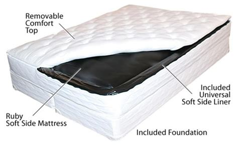 Waterbed Mattress Topper by Legacy Belleview Soft Side Waterbed Mattress