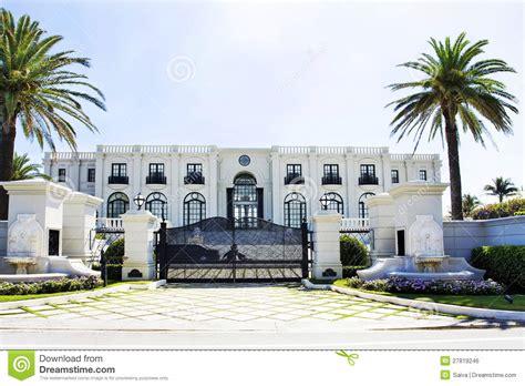 Delightful Large Estate House Plans #6: White-luxury-house-27819246.jpg