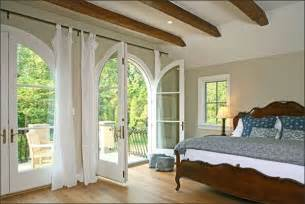 Romance french doors definitely add elegance and romance to a bedroom
