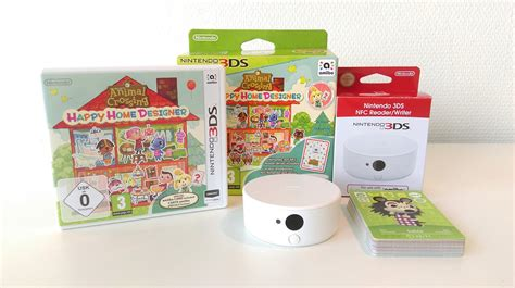 animal crossing happy home designer nfc reader writer