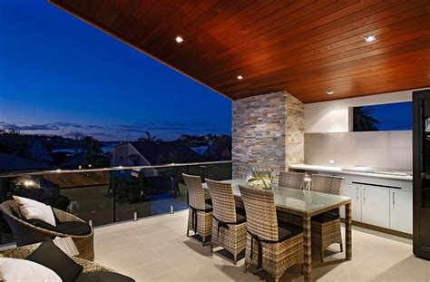 scenic river views indoor outdoor interplay shape classy aussie home