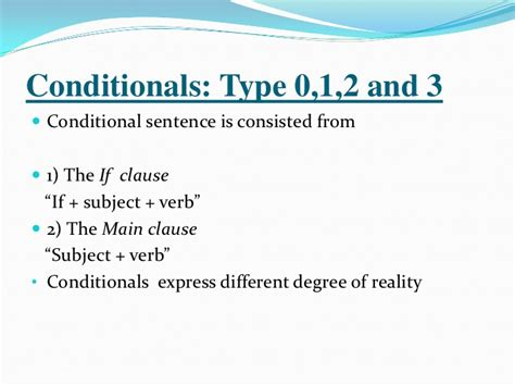 pattern if clause type 1 conditionals english for palestine