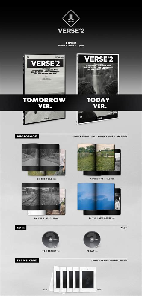 Icarus Jj Project jj project verse 2 tomorrow ver cd