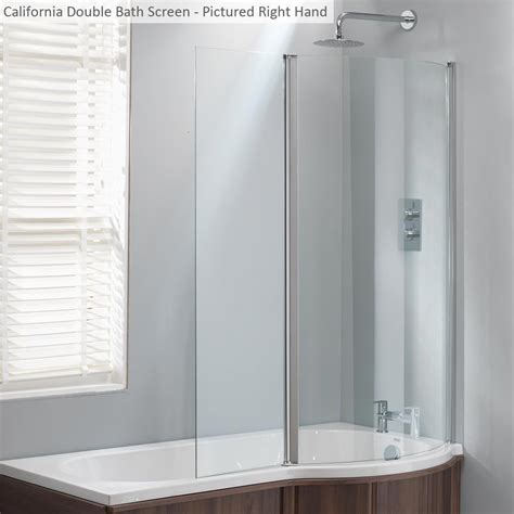 shower screens for baths uk genesis california shower bath screen only genesis from amazing bathroom supplies uk