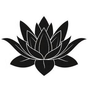 Lotus Flower Silhouette 25 Best Ideas About Lotus Flower Drawings On