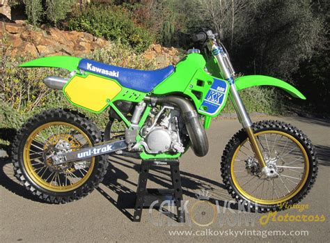 motocross race homes for sale custom 1989 kawasaki kx 500 vintage motocross dirt bike