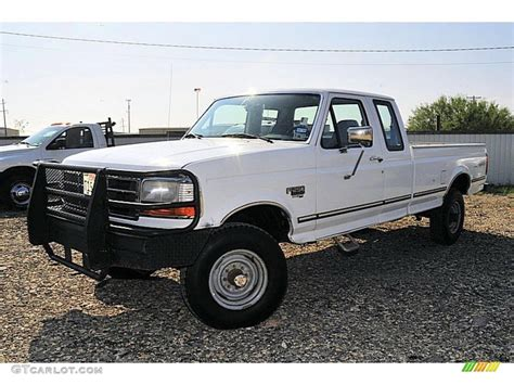 1995 Ford F250 by 1995 Oxford White Ford F250 Xlt Extended Cab 4x4 38474798