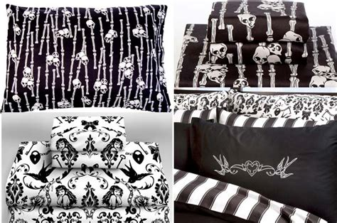 punk comforter goth bedding sets and drapes pictures to pin on pinterest