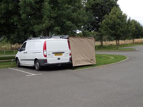Pull Out Sunshade 2 5m X 1 8m Side Awning Extension For Pull Out Exterior