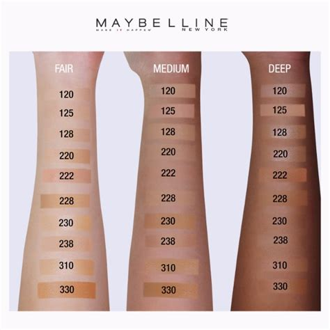 Harga Loreal Foundation Matte maybe lline fit me matte poreless foundation 220