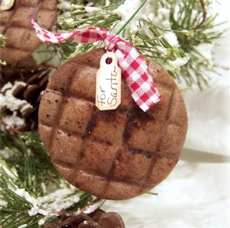 cookies for santa salt dough christmas tree ornaments