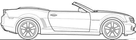 coloring pages of convertible cars chevy camaro coloring page coloring home